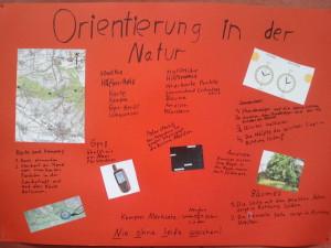 Plakat-Orientierung