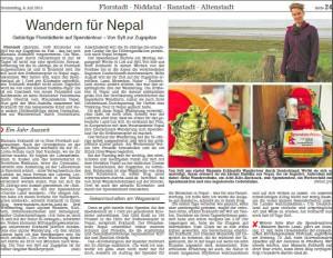 Wetterauer Zeitung 09.07.2015