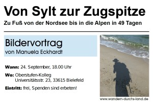 Flyer-Seite 1_Bildervortrag-Von Sylt zur Zugspitze